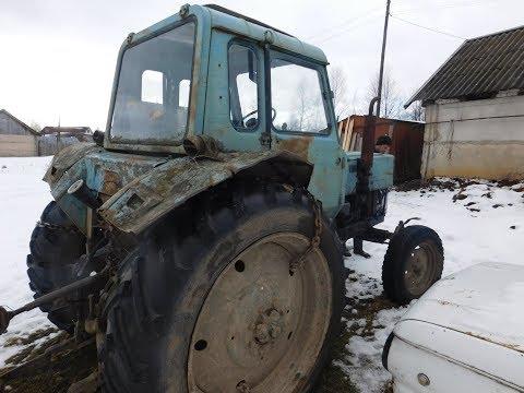 А что его смотреть,рабочий трактор!Продажа МТЗ 80