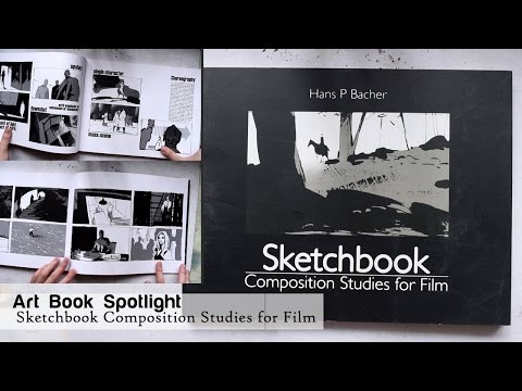 Art Book Spotlight: Sketchbook Composition Studies by Hans P. Bacher
