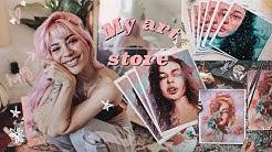 ✨My own online Store + How I make my prints #AD   Jim Reno 🍂