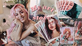✨My own online Store + How I make my prints #AD | Jim Reno 🍂