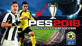 تحميل لعبة  الاسطورة بيس 18 || PES 2018 PSP للاندرويد اضافة  اوجه شبة واقعية + اخر الانتقالات