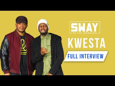 The King of African Rap Kwesta Smashes a Freestyle on Sway i