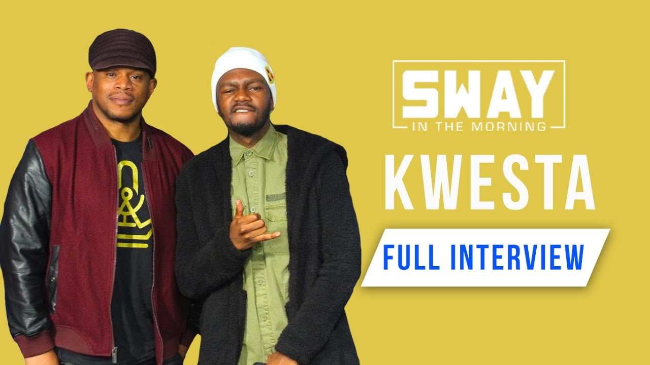 The King of African Rap Kwesta Smashes a Freestyle on Sway in the Morning - YouTube