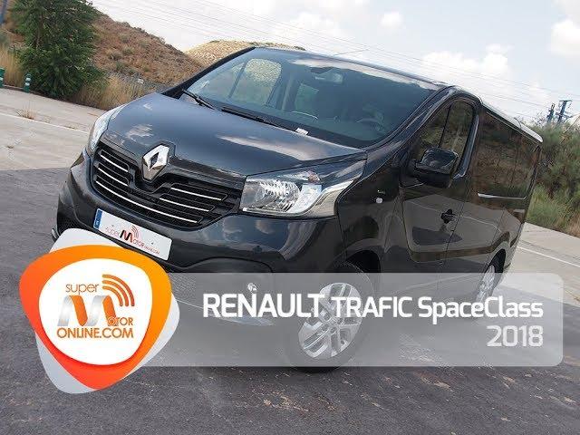 Renault Trafic SpaceClass 2018 / Al volante / Prueba dinámica / Review / Supermotoronline.com