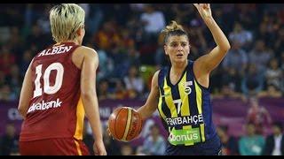 Fenerbahçe 69-61 Galatasaray bayanlar Türkiye kupası final 05.03.2016 MÜTHİŞŞŞ BASKETBOL