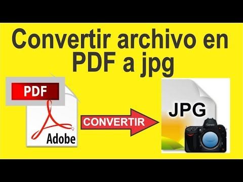 Cómo Convertir Un Archivo En PDF A JPG 2019 Totalmente Gratis Y Sin Programas.