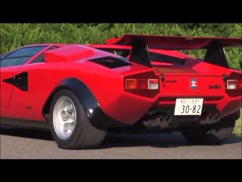 lamborghini countach built for walter wolf youtube. Black Bedroom Furniture Sets. Home Design Ideas