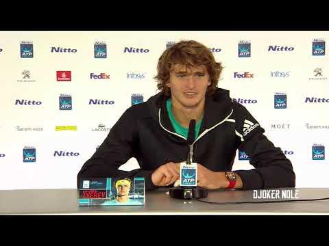 "Alexander Zverev ""Is very tough to beat Djokovic"" - ATP Finals 2018 (HD)"