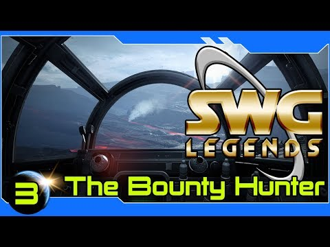 SWG Legends: The Bounty Hunter Path -Star Wars Galaxies Bounty Hunter Gameplay – Part 3