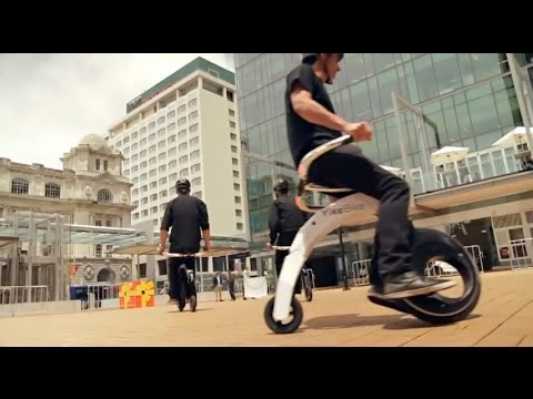 YikeBike - How easy is it to ride a YikeBike? Extended Version