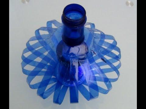 Cómo hacer una lámpara reciclando botellas de plástico - How to recycle plastic bottles de YouTube · Alta definición · Duración:  2 minutos 10 segundos  · Más de 1.802.000 vistas · cargado el 20.09.2013 · cargado por Reciclado Creativo - DIY - Manualidades