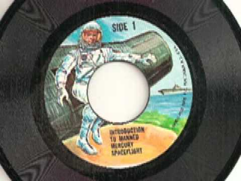 Introduction To Manned Mercury Spaceflight 45 rpm record