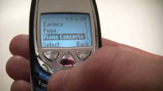 Vintage Nokia 8390 Cell Phone In Depth Review
