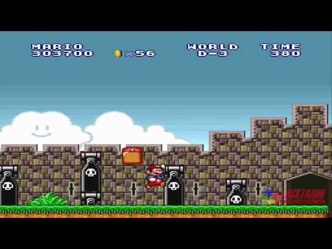 Super Mario Bros Lost levels - World D