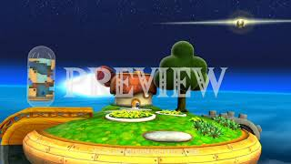 Super Mario (Galaxy Good Egg Galaxy) - 1080p 60FPS Looping Background by Henriko Magnifico