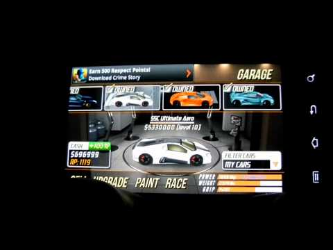 drag racing android  SSC Ultimate Aero 10.920 1/2 mile