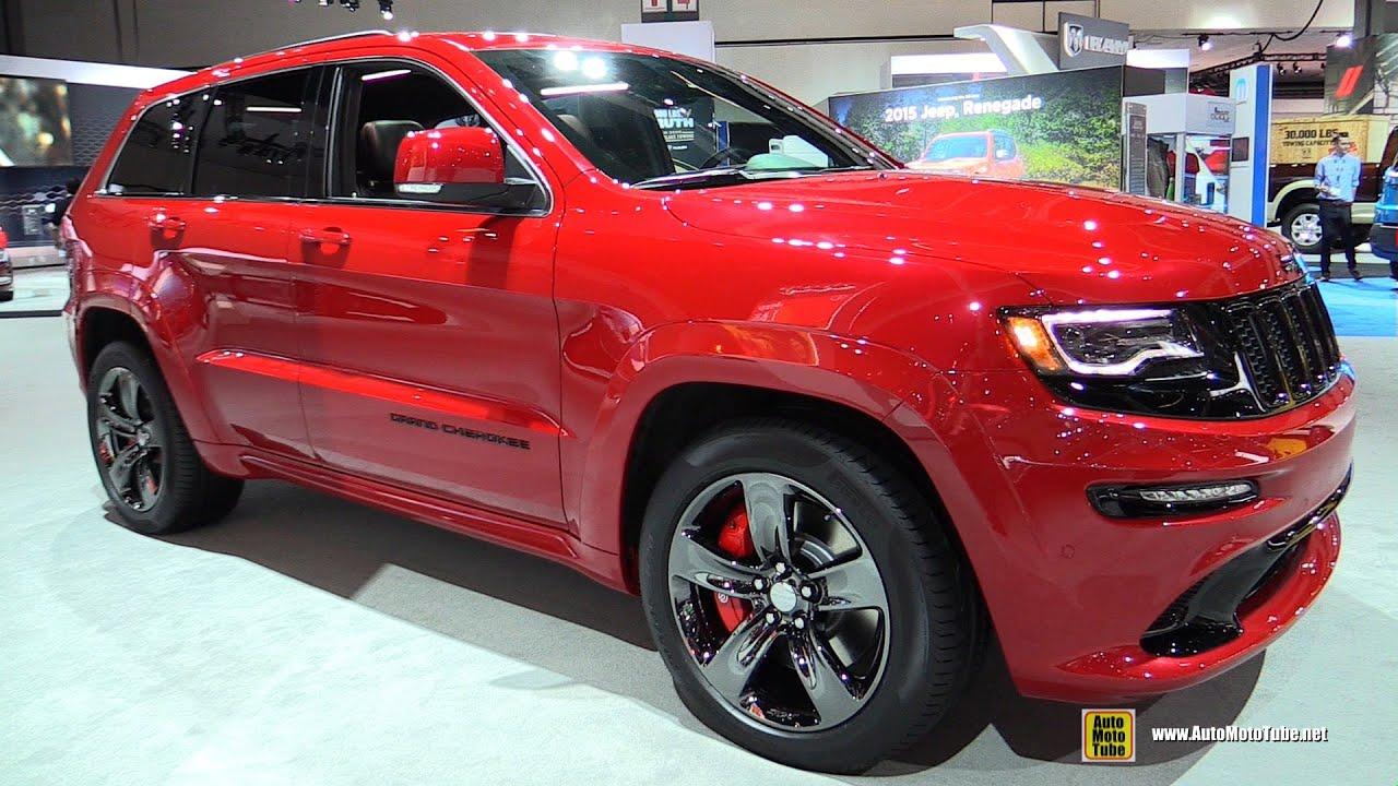 Marvelous 2015 Jeep Grand Cherokee SRT Red Vapor Edition   Exterior, Interior  Walkaround   2014 LA Auto Show   YouTube