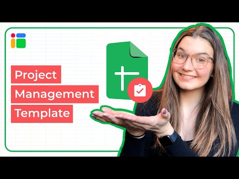 Project plan template in Google Sheets