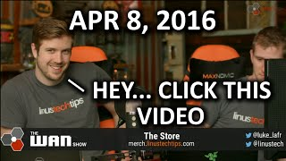The WAN Show - *ACTUALLY* The NVIDIA Show This Time.. - April 8, 2016