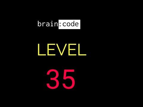 Brain code level 35 solution or walkthrough