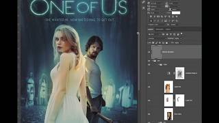 OneOfUs Keyart Layer build up