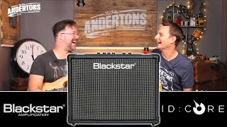 Blackstar ID CORE 100 & 150 Demo - Super Wide Stereo Goodness!