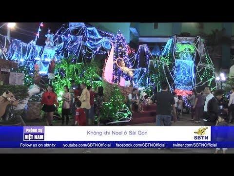 PHÓNG SỰ VIỆT NAM: Không Khí Noel ở Sài Gòn