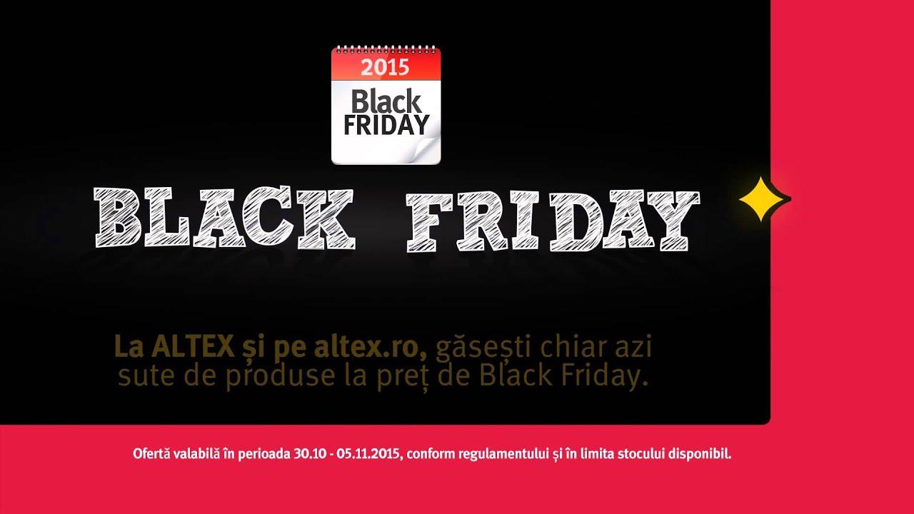 Catalog ALTEX Black Friday! 01 Noiembrie 2019 - 04 ...   Altex Black Friday