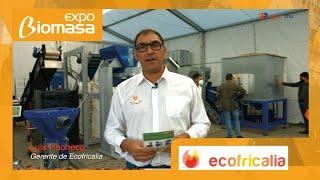 Nuevas Peletizadoras PLT200 de Ecofricalia en Expobiomasa 2021