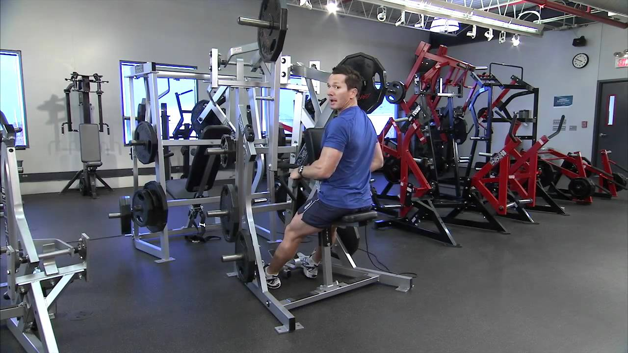 Hammer Strength Plate-Loaded Low Row Instructions