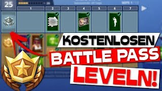 FAST LEVELIng WITHOUT BATTLE PASS! Fortnite free Battle Pass niveau!