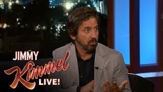 Ray Romano's Photo Booth Fail at Jimmy Kimmel's House