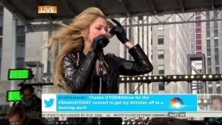 Shakira - Empire - Live on Today 03-26-2014 HD 1080i