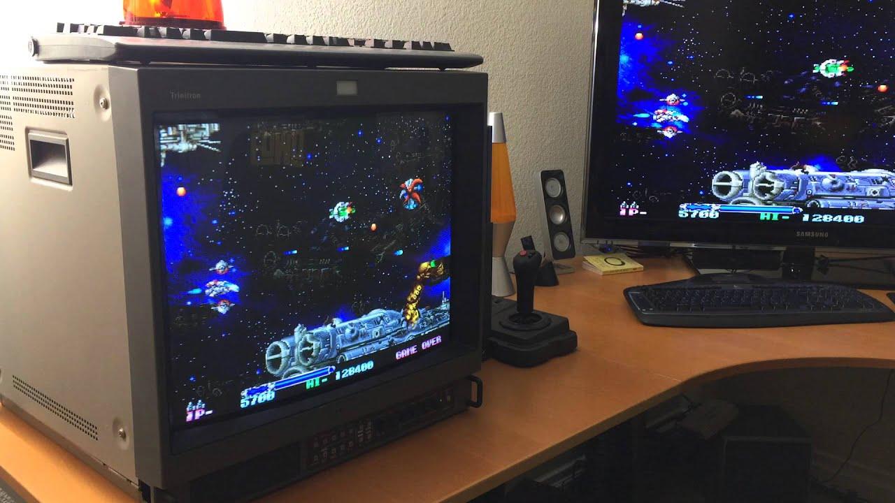 Emulator Pc Outputing Rgb To Sony Pvm Youtube
