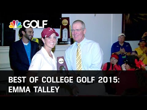 Best of College Golf 2015: Emma Talley | Golf Channel
