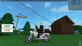 ROBLOX KAT PRO GOES TO GUN SIMULATOR
