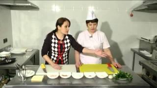 "Рубрика ""Особое меню"": царский салат"