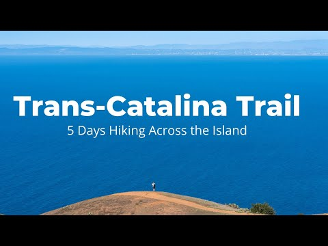 Hiking The Trans-Catalina Trail Over 5 Days