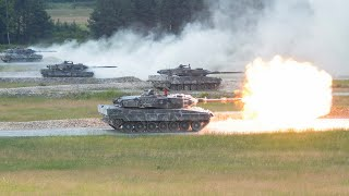 Tank Challenge 2018  - Leopard 2, T-84 Oplot, Challenger 2,  Leclerc, M1 Arams Show Their Skills