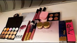 ALIEXPRESS HAUL#4 HUGE HAUL UNBOXING SWATCHES