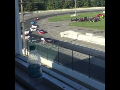 First lap of ROC late models at Lancaster National speedway 9-23-18