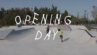 ACTON SKATE PARK OPENING DAY