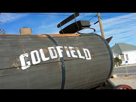Outdoor Mining Hardware Equipment Museum (Goldfield, Nevada)