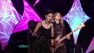 """Selena Gomez & The Scene - A Year Without Rain (live on """"The Ellen Show"""")"""