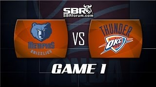 NBA Picks: Memphis Grizzlies vs. Oklahoma City Thunder Game 2