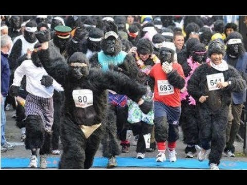 Most BIZARRE Fun Runs From Around The Globe