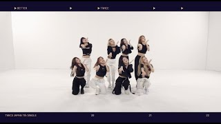 Download TWICE「BETTER」Dance Practice Video