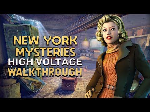 Letu0027s Play New York Mysteries 2  High Voltage PC Walkthrough #hiddenobjectgame #NewYorkMysteries2
