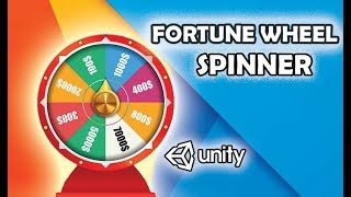 unity3d fortune wheel spinner Tutorial ( FREE Code + Assets)