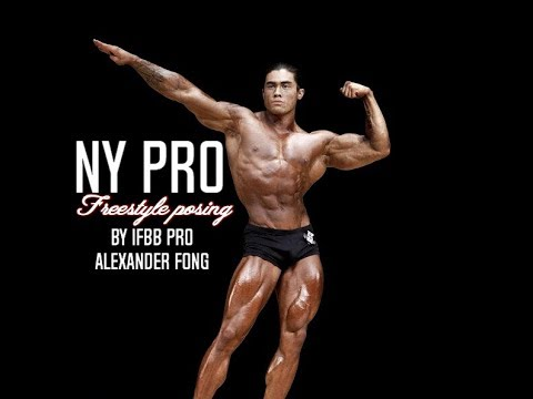 Classic Posing in New york Pro 2017 by IFBB PRO Alexander Fong